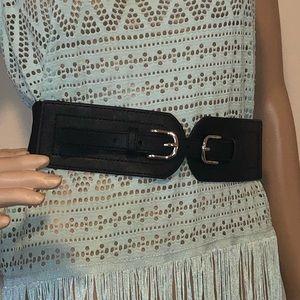 Black PLUS SIZE belt